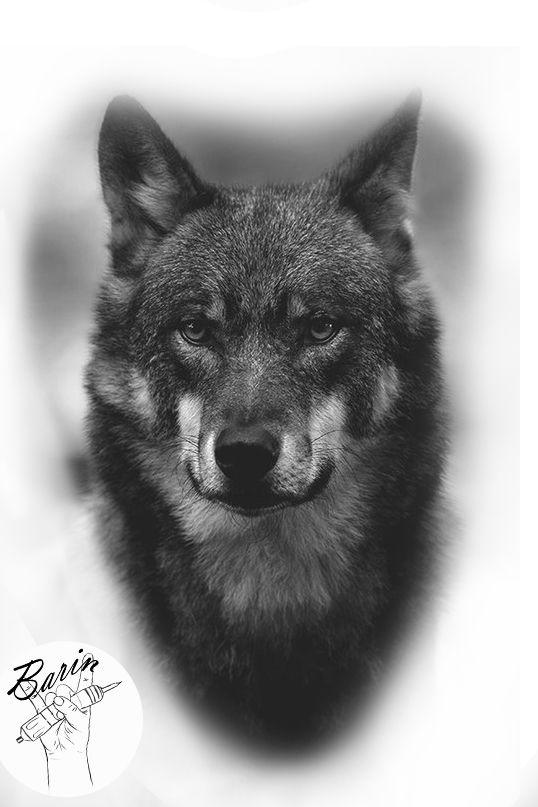 Desenho Lobo Tattoagem Tattoagem De Lobo Desenhos De Lobos Desenho