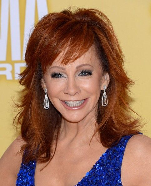 haircut free 2013 reba mcentire trendy shaggy medium hairstyles for 2440
