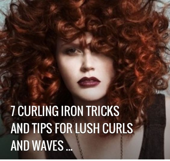 ✨Curling Iron Tricks And Tips For Lush Curls And Waves✨ #Beauty #Trusper #Tip