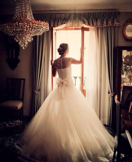 Isn't she lovely?  Beautiful Jesus Peiro Bride - Wedding dresses.