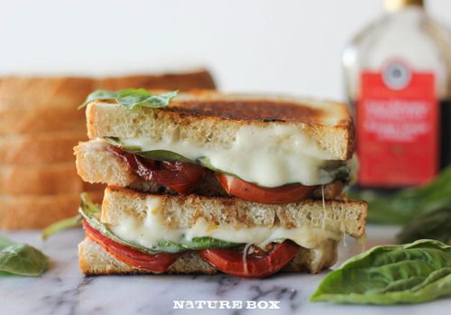Roasted Tomato Caprese Grilled Cheese | Cream cheeses ...