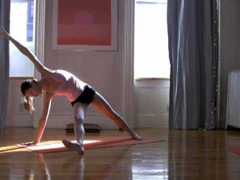 4 week Strength Building Yoga Routine - Week 2 -Strength: Abs Buns and Thighs