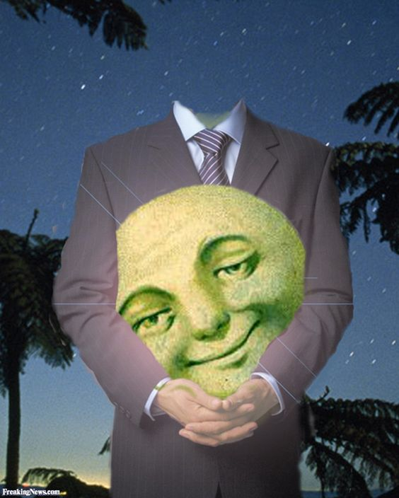 Man Holding the Moon: