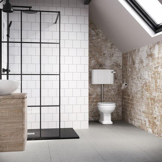 トイレ インダストリアル インテリア コーディネート例