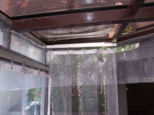 スワロンのビニールカーテンです 東京都世田谷区奥沢のインテリア山田