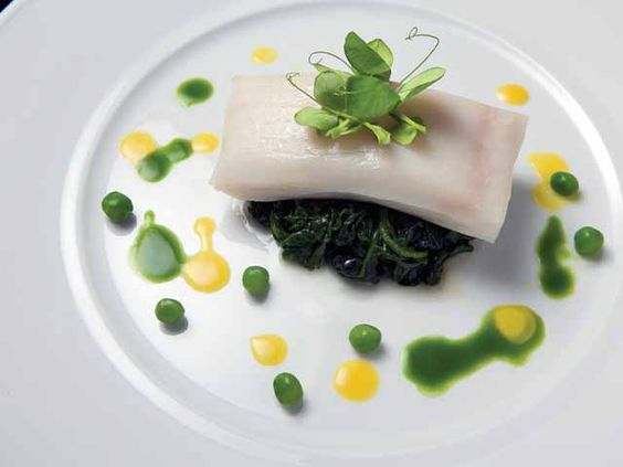 Halibut is  one species  that holds up  well using the  sous vide technique. - Photo courtesy of PolyScience and Bergonia Photography