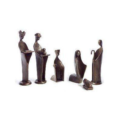 6 Piece Mini Nativity Set in Bronze by Danya B  http   www. 6 Piece Mini Nativity Set in Bronze by Danya B  http   www amazon