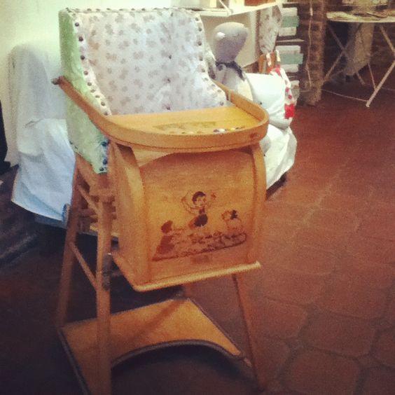 chaise haute Torck  www.pepinlalune.be