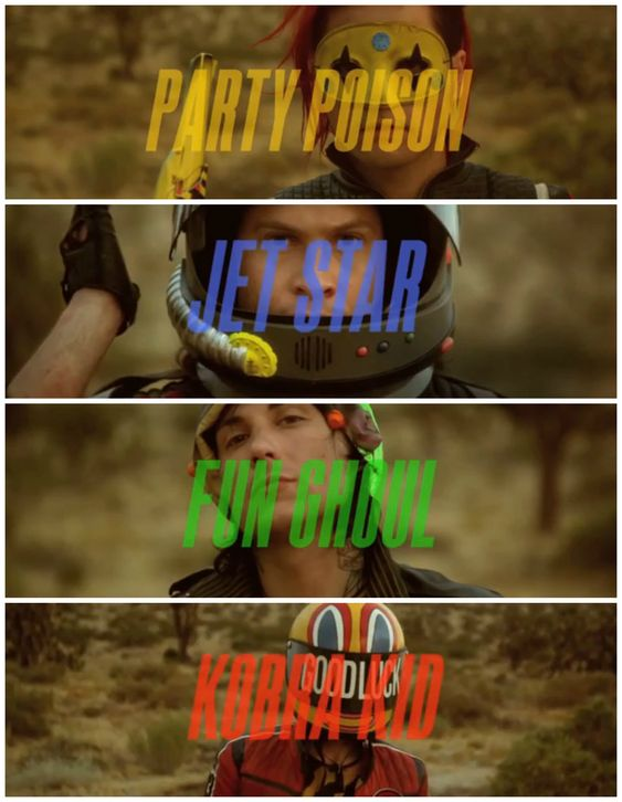 My Chemical Romance - Danger Days Killjoys never die.. IT STRUCK ME THAT BAD BLOOD MUST HAVE TRIED TO FOLLOW THIS
