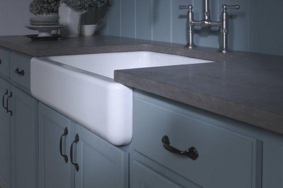 Self Trimming Farmhouse Sink : kitchen sinks cabinets sinks farmhouse sinks not in love farmhouse ...