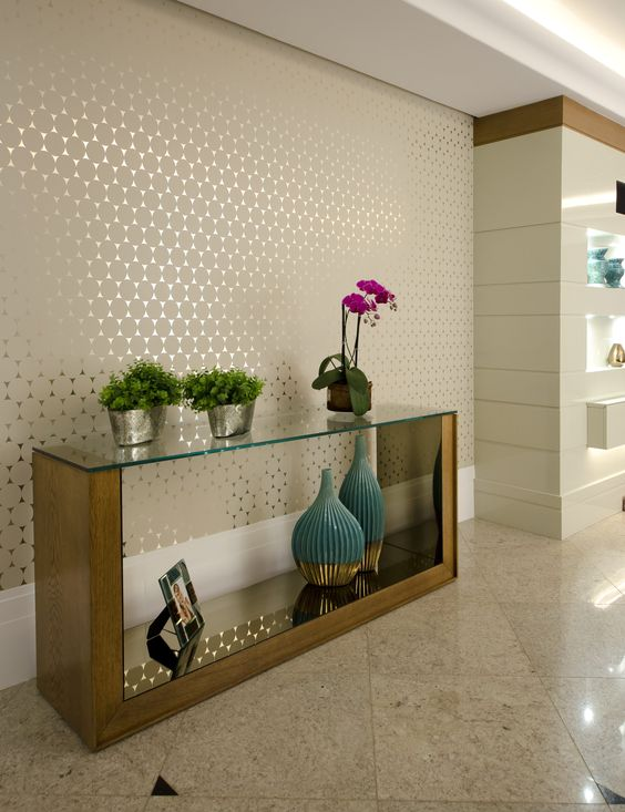 Papel de parede ideas para el hogar pinterest - Papel pared entrada ...