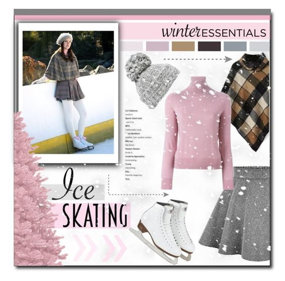 """Ice Skating Style"" by carlavogel ❤ liked on Polyvore featuring Episode, Evelyn K, P.A.R.O.S.H., Winter and iceskatingstyle"