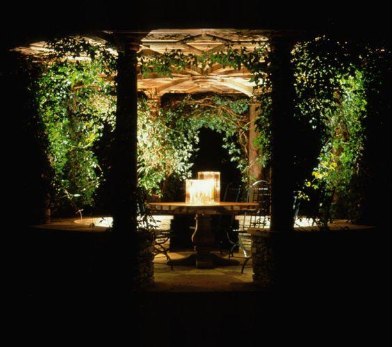 Lighting design by John Cullen Lighting Garden Lighting
