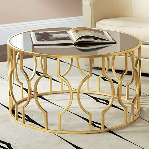 Center Table Ideas To Brighten Your Living Room Kaynuli Round Coffee Table Gold Coffee Table Coffee Table