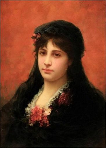 spanish-woman-emile eismann semenowsky