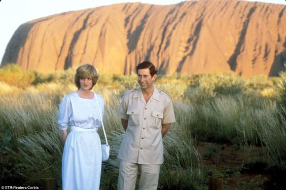 Special place: Princess Diana and Prince Charles also visited Uluru 31 years ago in March ... http://dailym.ai/1i9I8Op#i-8f290e09