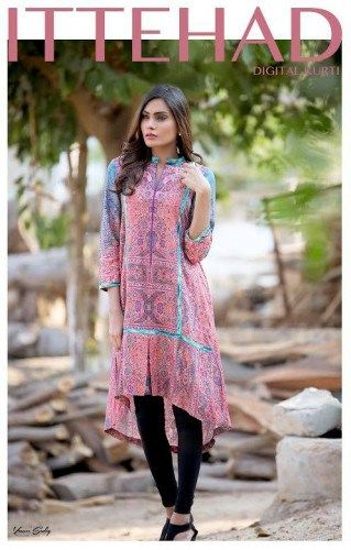 House of ittehad designs dresses for all age groups of women and girls and it has become first choice of young girls. Young girls and ladies prefer to wear house