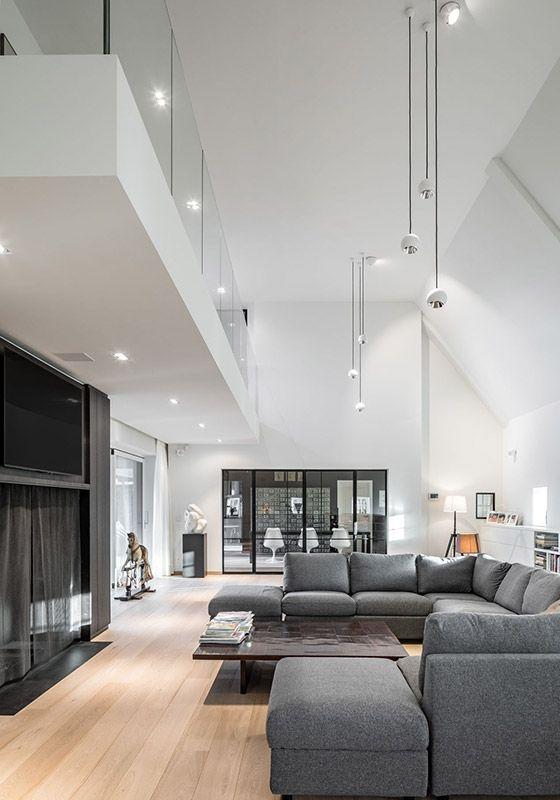Mini Multiple Trimless Modular Lighting Instruments Living Room Lighting High Ceiling Living Room Ceiling Lights Living Room