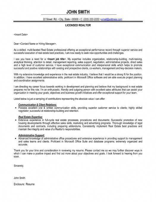Licensed Realtor Resume Template Premium Resume Samples
