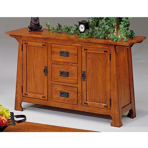 Homelegance 973-05 Country Living Room Sofa Table From The