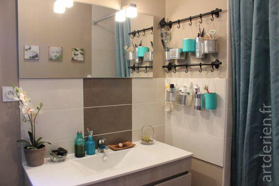 » Rangement de salle de bain recyclé
