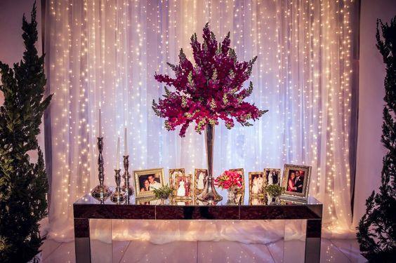 Casamento moderno: objetos pessoais na decoração