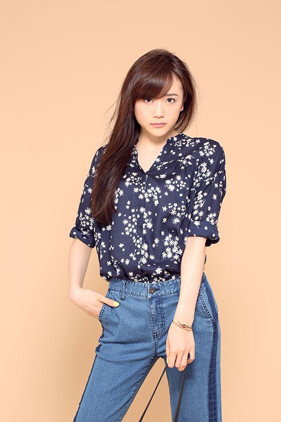 モデルショットな松井愛莉