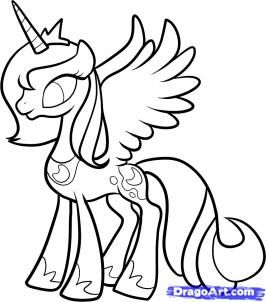 My Pony Coloring Pages Interesting My Little Pony Coloring Pages