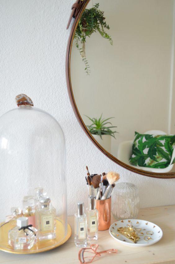 Make it boho : DIY Schminktisch mit Schubfächern im tropical Style