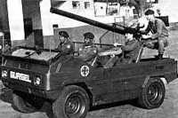 Vocação militar: o retilíneo X15 foi utilizado pelo Exército, cliente da Gurgel por longa data também pelo pequeno X12