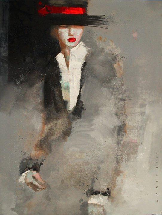 Pinturas abstractas de Viktor Sheleg:
