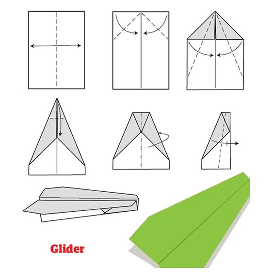 Como hacer aviones de papel paso a paso activities kids for Hacer piscina de obra paso a paso