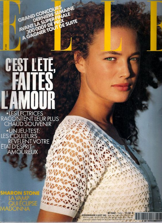 Amit Machtinger  -  Elle France Aug 1993 by Marc Hispard
