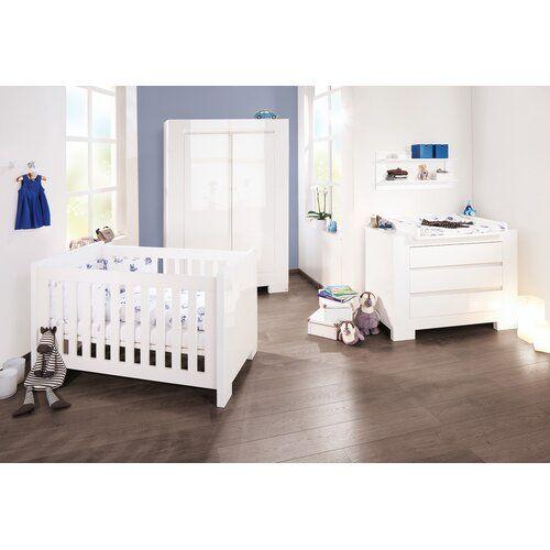 3 Tlg Babyzimmer Set Sky Pinolino Grosse Wickelkommode Standard