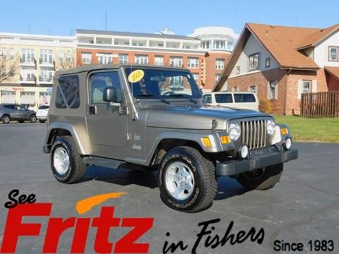 2003 jeep wrangler for sale in fishers in 2003 jeep wrangler jeep wrangler for sale jeep wrangler pinterest