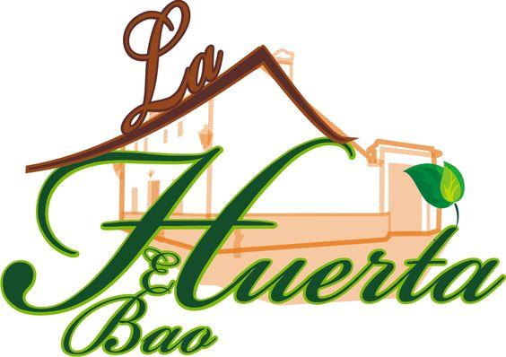 Logo de la casa rural la huerta el bao