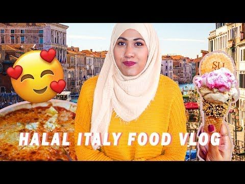 Halal Food Vlog Venice Italy Hungry For Goodies Youtube Food Around The World In 2019 Halal Recipes Easy Chutney Recipe Filipina Girls