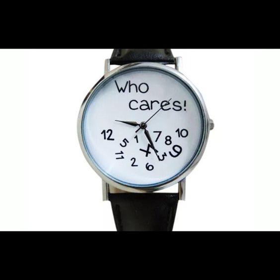 "‼️SALE‼️""Who cares!"" Watch ""Who cares!"" Watch. Brand new Accessories Watches"