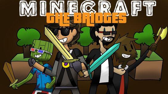 Minecraft Mini-Game : THE BRIDGES! Animated