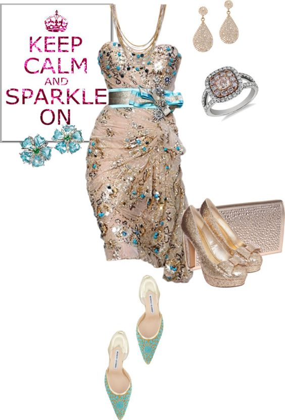 """""""sparkle"""" by lovetodrinktea ❤ liked on Polyvore"""