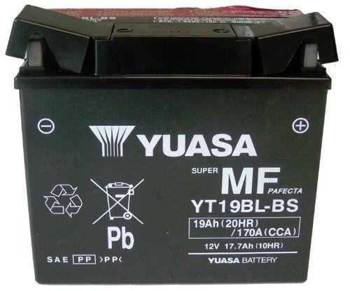 Yuasa Yuam6219bl Yt19bl Bs Sealed Battery Yuasa Body Kit Battery Shop