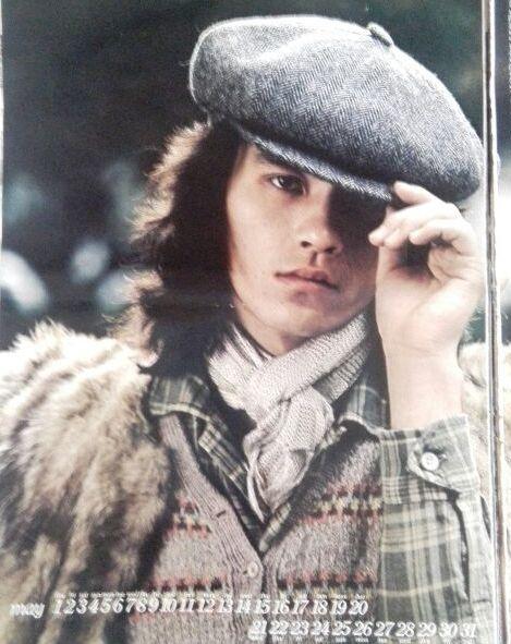 ベレー帽姿の若い頃・昔の西城秀樹