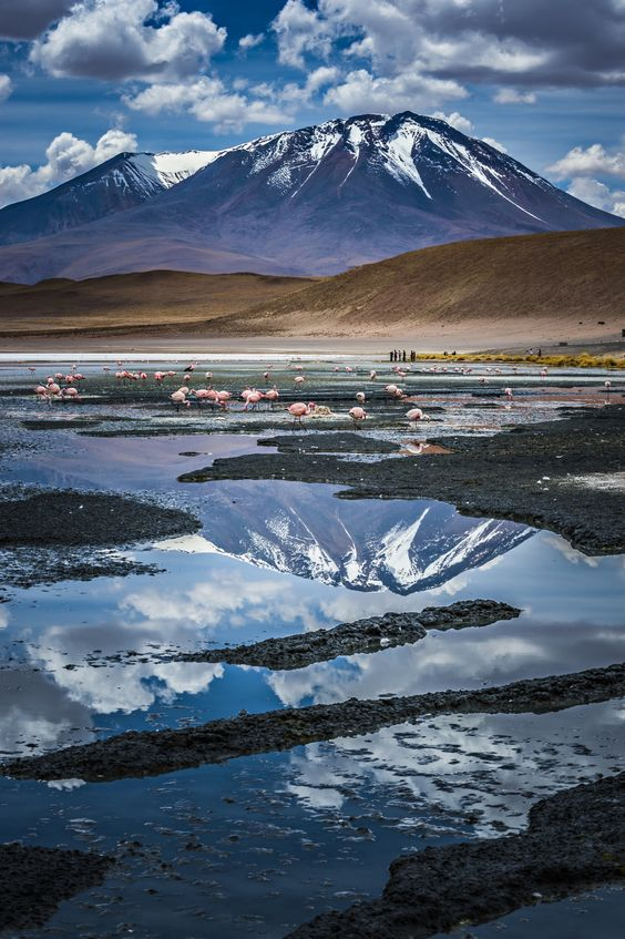 Surrealistic scenery near Salar de Uyuni, Bolivia