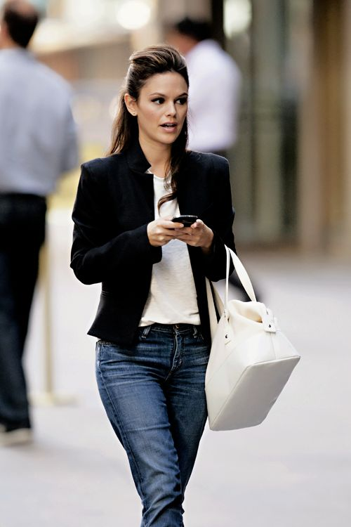 Blazers: an easy way to dress up t-shirt and jeans...I love to ...