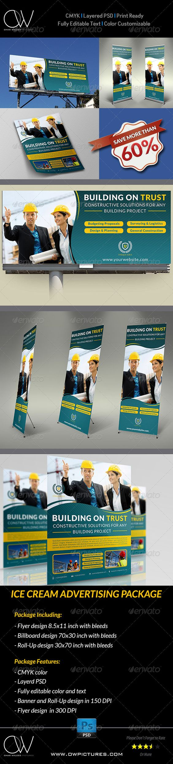 the world s catalog of ideas advertising package description cleaning services advertising bundle including flyer design billboard design and roll up signage banner design