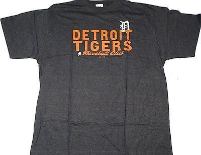 Detroit Tigers Majestic Club Short Sleeve T Shirt Size 2XT