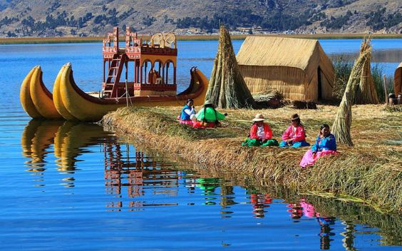 Visit Puno on the Peruvian side of lake Titicaca