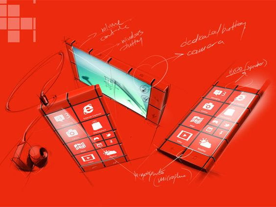 Kanavos Smartphone Concept by Alexandros Stasinopoul #industrial #design #id #product #sketch