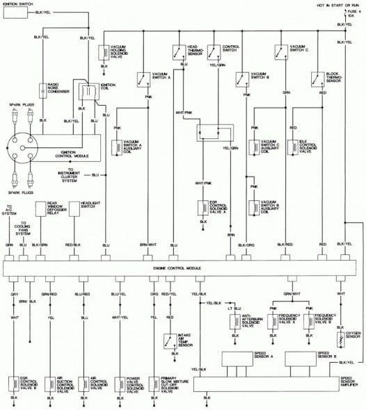 92 96 Honda Civic Alternater Wiring Schematics Honda Civic Engine Civic Ex Honda Civic Ex