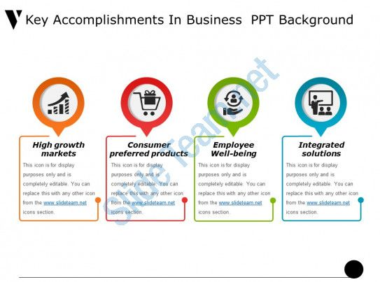 Key Accomplishments In Business Ppt Background Slide01 Powerpoint Templates Powerpoint Template Free Powerpoint
